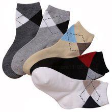 2 - 12 anos crianças primavera outono malha meias diamante meias de algodão para criança em tubo meias 5 pares/lote(China (Mainland))