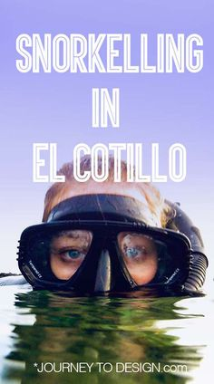 Beach please: Snorkelling in El Cotillo - journeytodesign.com Should Have Known Better, Nude Beach, Snorkelling, Cool Apartments, High Tide, Colorful Fish, Best Places To Travel, Great View, Travel Around The World