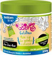 Gelatina Tô de Cacho Não sai da minha Cabeça Salon Line Liberada para No Poo, Low Poo, Shampoo Leve e Sem Shampoo.