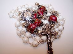 Rosary Of St. Theresa The Little Flower- Solid Silver