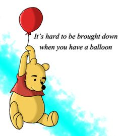 Winnie the Pooh, tigger, eeyore, piglet. Eeyore, Tigger, Balloon Quotes, Winnie The Pooh Quotes, Tao Of Pooh Quotes, Silly Quotes, Book Quotes, Xjr, Christopher Robin