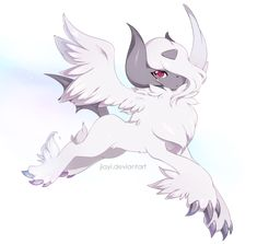 Absol Mega Form by *Jiayi on deviantART