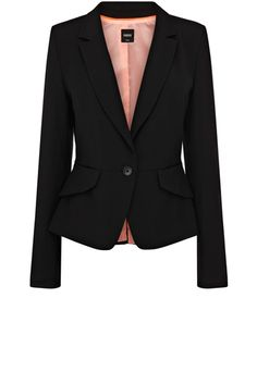 Jacket 'Celeste' (£65.00, Oasis). Can dress up a soft pink dress or combine with a pencil skirt for a more formal interview.