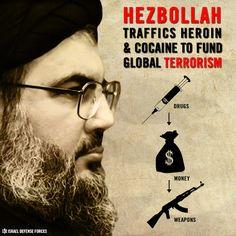 O Hezbollah e o tráfico de drogas