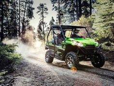 New 2017 Kawasaki Teryx LE ATVs For Sale in Oregon. 2017 Kawasaki Teryx LE, 2017 Kawasaki TERYX® LE THE KAWASAKI DIFFERENCE KAWASAKI STRONG Known for its legendary V-Twin power and versatility, the Kawasaki Teryx is ready to tackle the toughest of obstacles. Built with Kawasaki Heavy Industries Ltd. strength and backed by the Kawasaki Strong 3-Year Warranty, the Teryx side x side is the ultimate off-road adventure partner. Aggressive front end styling Optimized settings for Fox Podium 2.0…