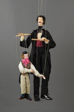 Marionnette à fils Personnage : Le Marionnettist