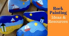 Rock Painting - Ideas & Resources