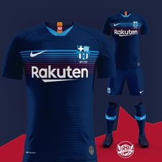 """@cfk.designs posted on their Instagram profile: """"2019/20 Nike kit for @fcbarcelona 🔴🔵 Tell me your opinions and rate this Barcelona kit from 1 to 10…"""" Soccer Jerseys, Soccer Shirts, Sports Shirts, Barcelona Football Kit, Fc Barcelona, See Through Prom Dress, Sports Jersey Design, Football Pitch, Sublime Shirt"""