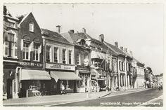 Breda. Princenhage - Haagse Markt met Haagweg.