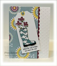 "stampersblog: So ""Boot"" Love this one! -Stampin' Up! Bootiful Occasions - SU"