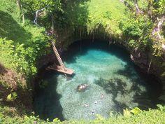 To Sua Ocean Trench Lalomanu, Samoa  |