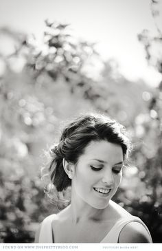 Romantic wedding updo | Photo: Moira West Photography, Hair: Robyn Hill from Strangelove