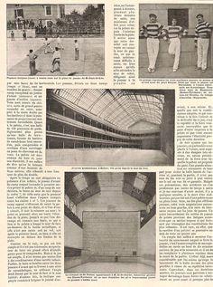 LA JEU DE PELOTE BASQUE BILBAO NEUILLY ST-PALAIS ARTICLE PRESSE DE BEGUIN 1899 | eBay