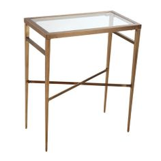 Barbara Barry For HenredonI Want It A Few Of My Favorite - Rectangular glass side table