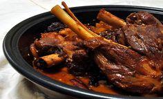 Cuisine Marocaine _ jarret d'agneau aux épices