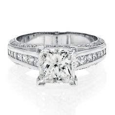 Classic 2 Carat Solitaire Engagement Ring
