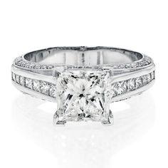 Classic 2 Carat Solitaire Engagement Ring