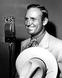 Gene Autry  images on tumblr |  Gene Autry, the Singing Cowboy on CBS radio