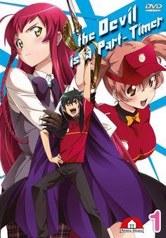 Hataraku Mao-sama / The Devil Is A Part-timer I Love Anime, Awesome Anime, Me Me Me Anime, The Devil Is A Part-timer, Devil Part Timer, Thriller, Hataraku Maou Sama, Happy Guy, Cool Sketches