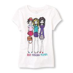 best fabulous friends graphic tee