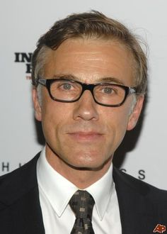 what a fabulous bad guy - I love to hate his characters. (Christophe Waltz)