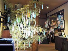 『2016七夕まつり』 短冊をこんなにたくさんかけていただきました。ご参加くださった方々、ありがとうございます。 Tanabata Festival 2016