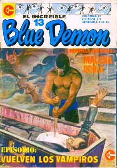 El Increible Blue Demon comic book