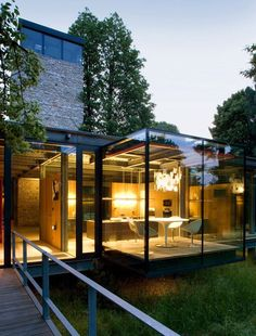 Glass House in Krakow