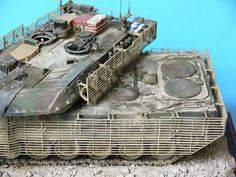 TRACK-LINK / Gallery / Leopard 2A6M with Slat Armor Afghanistan 2008