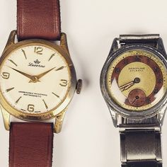 #1930 #Atlanta wrist watch and a gilt metal wrist watch by #lucerne with a #cream dial is up for #auction on Wednesday April 22nd in #Oxford estimated at £60-£80