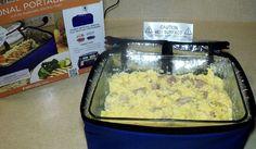Ham, Egg and Cheese Omelet in the Hot Logic Mini Oven Recipes, Keto Recipes, Healthy Recipes, Food Travel, Travel Tips, Ham And Egg Casserole, Portable Stove, Turkey Ham, Mini Eggs