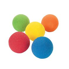 Play a variety of games with these squishy sponge balls! Safe and fun for indoor activities, these soft balls are perfect for preschool or day care. A great way for kids to develop hand-eye coordination! Bubble Balloons, Water Balloons, Motor Skills Activities, Indoor Activities, Stem For Kids, Art For Kids, Bouncy Ball, Carnival Birthday Parties, 5th Birthday