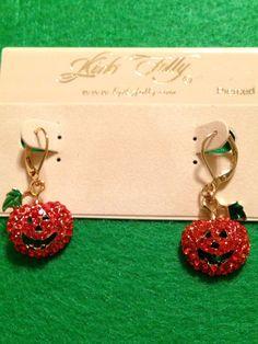Kirks Folly Pumpkin Earrings