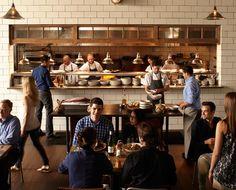 Kfc restaurant concept by cbte mimarlik turkey hotels Kitchen design with cooking in mind