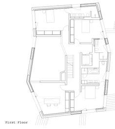 villa ensemble - zurich - andreas fuhrimann + gabrielle hächler + soius + kessler kessler - house a f1 plan