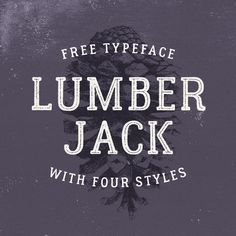 """Check out this @Behance project: """"Lumberjack. Free font."""" https://www.behance.net/gallery/30812011/Lumberjack-Free-font"""