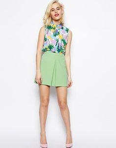 ASOS Woven A-Line Vintage Skirt