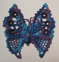 Ravelry: Figure 41. Butterfly pattern by Priscilla Publishing Company  - free