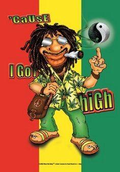 High with Mr Marley Bob Marley Kunst, Bob Marley Art, Reggae Art, Reggae Music, Rasta Art, Drugs Art, Tabu, Clown Tattoo, Smoking Weed