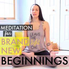 Meditation Video for New Beginnings