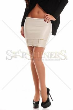 MissQ Fancy Wear Nude Skirt