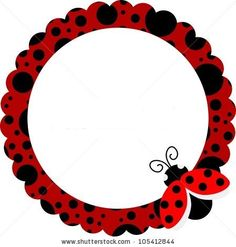 Illustration about Scalable vectorial image representing a ladybug circle frame, isolated on white. Baby Ladybug, Ladybug Party, Diy And Crafts, Crafts For Kids, Arts And Crafts, Ladybug Crafts, Class Decoration, Frame Clipart, Borders And Frames