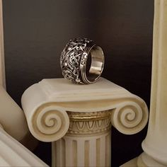 Sterling Silver Cross Pendant, Handmade Sterling Silver, Sterling Silver Rings, Lotus, Crow Skull, Byzantine, Statement Rings, Beautiful Rings, Floral Design