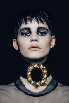 Hannah Elyse 'Stark' by Bonnie Hansen for Black Magazine 15