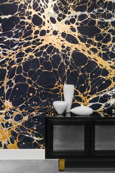 Marbled Wallpaper, very striking