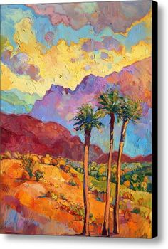Indian Wells Canvas Print / Canvas Art By Erin Hanson