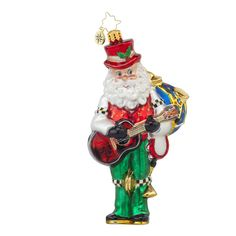 "Christopher Radko Ornament - ""One Man Band"""