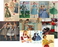 Gonna a ruota e vita sottile: la moda anni '50.