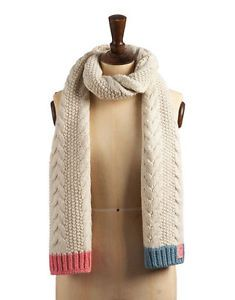 Joules-Mablescarf-Mable-Cable-Scarf-Cream-Size-ONE-SIZE