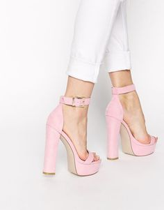 Nice Pink high heel Shoes
